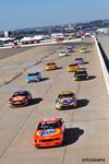 Vintage NASCAR start