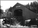 Chitwood Covered Bridge -  Oregon coast