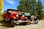 Vintage wheels at Grand Lake Lodge