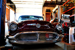 1956 Oldsmobile front view