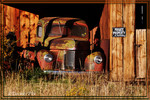 International Harvester pickup truck