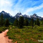 Bradley Lake trail peaks