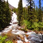 Hidden Falls river