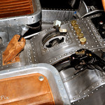 1939 Plymouth Radial Air truck interior detail