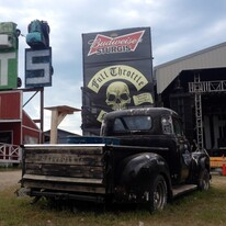 Full Throttle Saloon beer truck