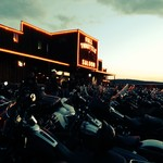 Full Throttle Saloon sunset