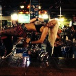 Full Throttle Saloon bartender