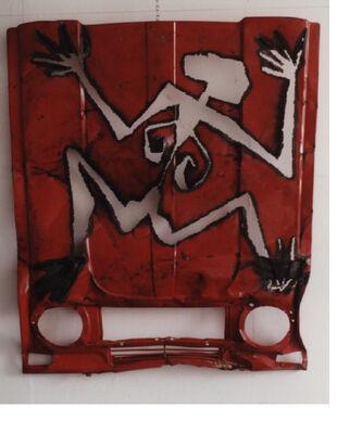 Dancer stele