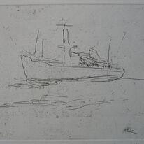 Boat to Tallinn