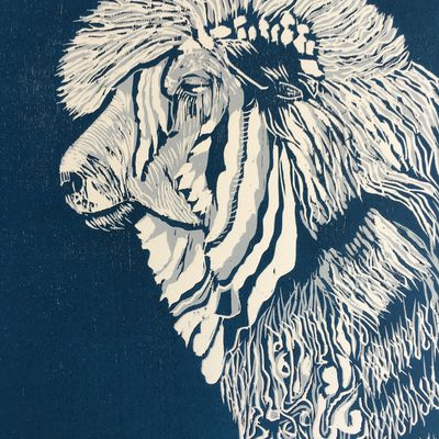 Leicester Longwool Ewe