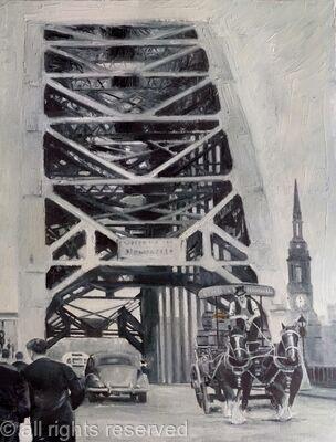 Crossing the Tyne Bridge