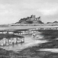 The Rock Pools at Bamburgh Castle