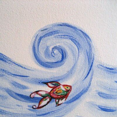 Surfing Fish
