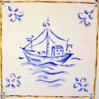 'Fishing Delft'