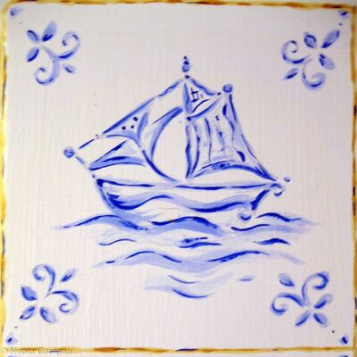 'Sailing Delft'