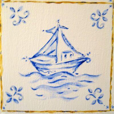 'Delft Tile'