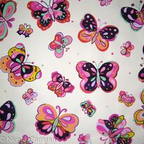 Butterflies dancing