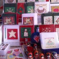 Christmas cards and gifts