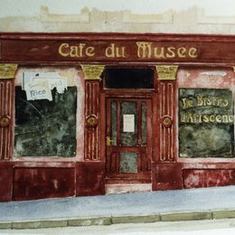 Cafe du Musee, Luxembourg