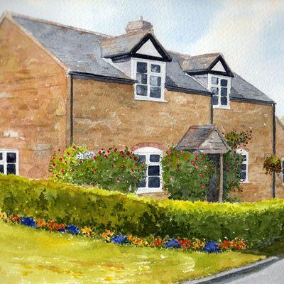 Portrait of a Shropshire Cottage