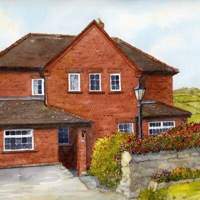 Derbyshire House Portrait