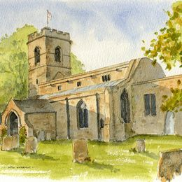St Mary's Church, Orton Waterville, Peterborough