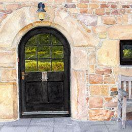 Old Farmhouse Door, Jersey