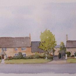Orton Waterville Village Scene