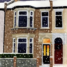 Snowy London Home