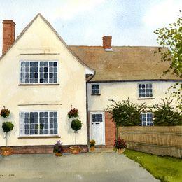 Suffolk Farm House Portrait