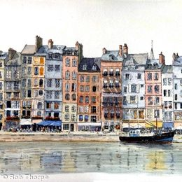The Old Port, Honfleur