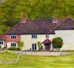 Dorset Farmhouse Portrait