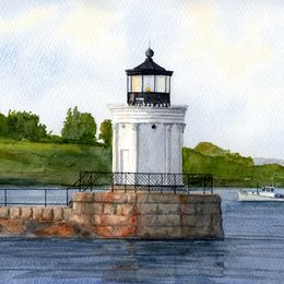 Portland Breakwater Lighthouse, Maine