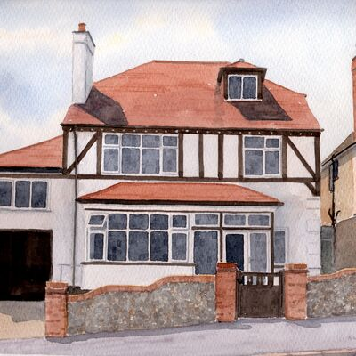 Kent house portrait