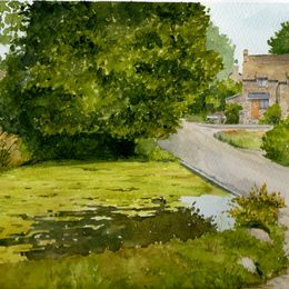 Oxfordshire Village Pond