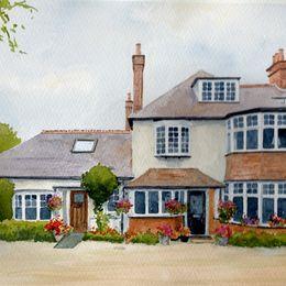 Surrey House Portrait
