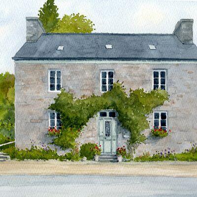 Breton House Portrait