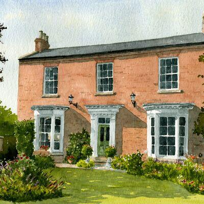 Yorkshire House Portrait