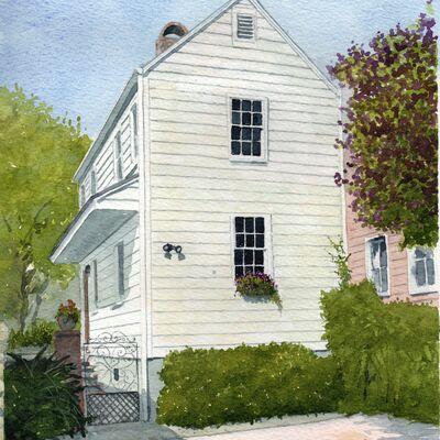 Historic Hiouse in Charleston, South Caroloina