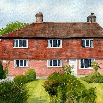 An Oxfordshire House Portrait