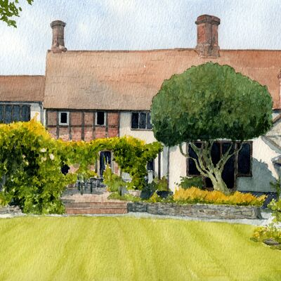 Buckinghamshire House Portrait