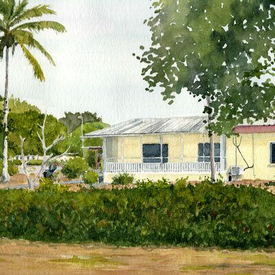 Gabon House Portrait