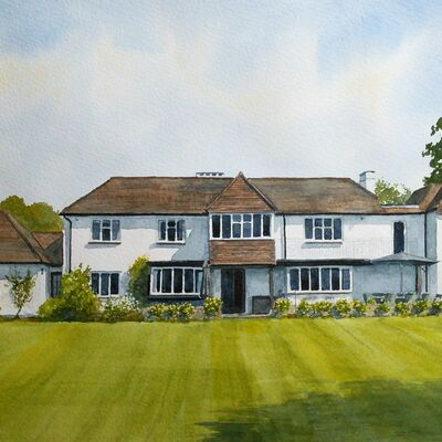Shalford, Surrey House Portrait