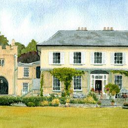 Porthmawr Country House, Crickhowell Print
