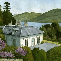 Stuckgowan House, Loch Lomond Print