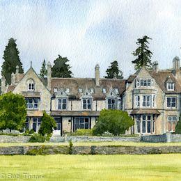 Blackmoor House Print