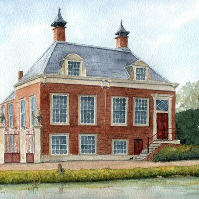 Riverside Dutch House Portriat
