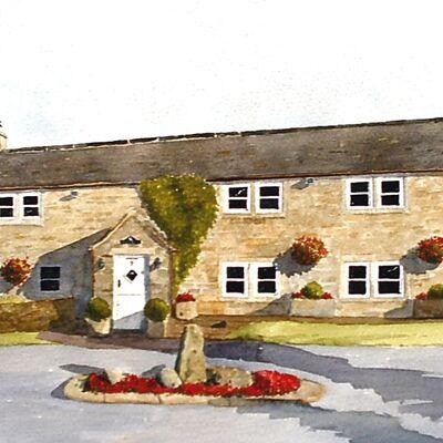 Farmhouse Watercolour