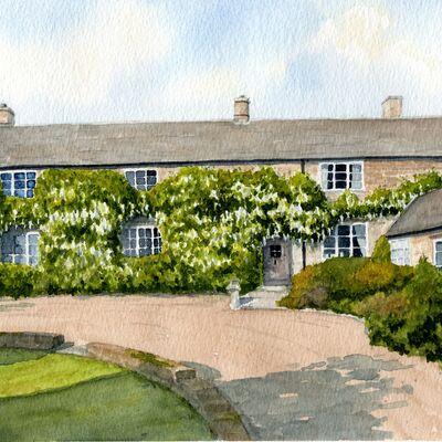 Warwickshire House in Watercolour