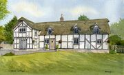 Cheshire Thatched and Timbered House